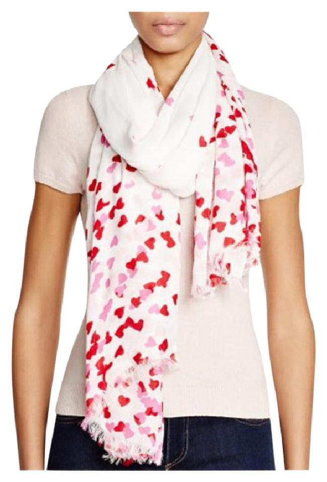 Kate Spade Dark Valentine Pink New York Falling Hearts