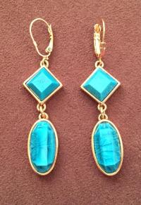 Kate Spade Turquoise Earrings Lyst Kate Spade New York ...
