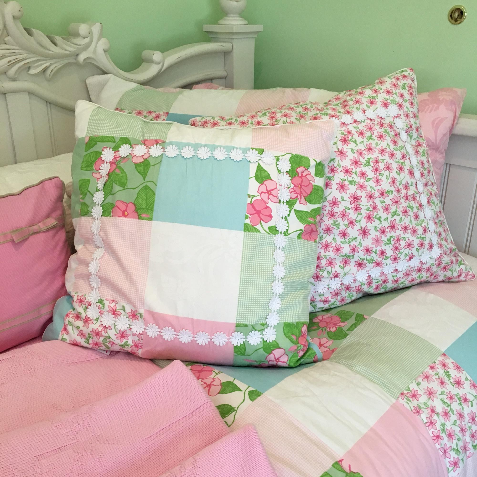 Lilly Pulitzer RARE Patchwork Bedding Set - 42% Off Retail