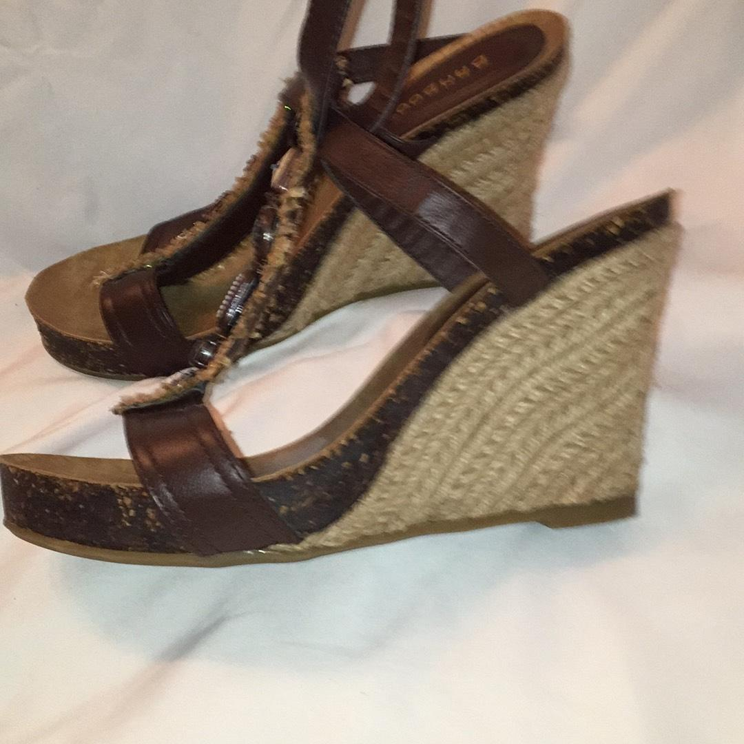Bamboo Brown Wedges 56