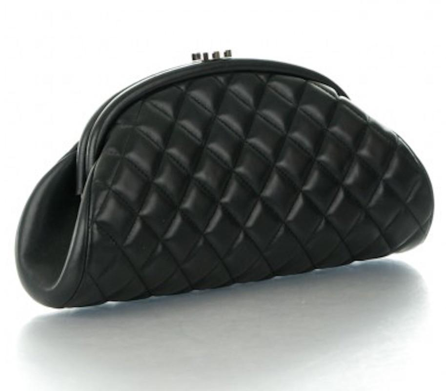 Chanel Timeless Clutch Evening Classic Flap Quilted