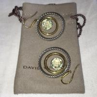 David Yurman Cable Earrings