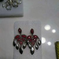 Kendra Scott Red Vintage Earrings