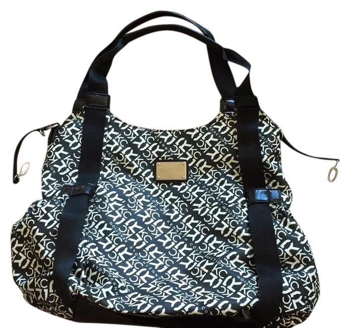 Kenneth Cole Reaction Black And White Diaper Bag - Tradesy