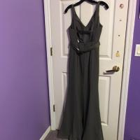 Simply Vera Vera Wang Charcoal Vera Wang Gown Dress on