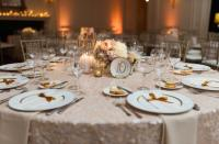 Ivory/Blush/Gold/Neutrals Vintage Plate Table Number with