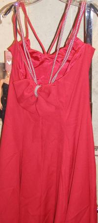 Red After Five/Cocktail Mid-length Cocktail Dress Size 14 ...