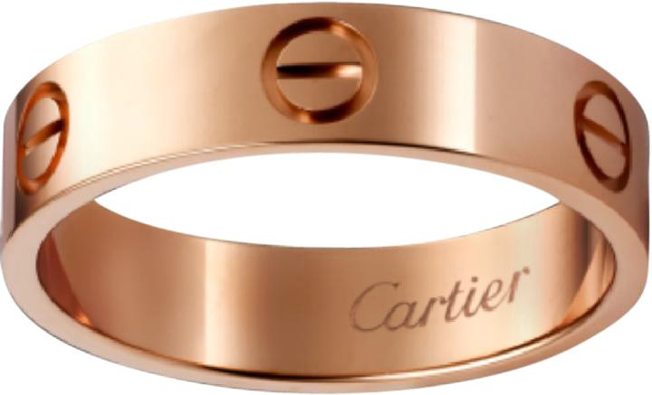 Cartier Love Ring Rose Gold Size 63 on Tradesy