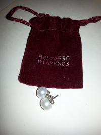 Helzberg Diamonds Pearl Stud Earrings - Tradesy
