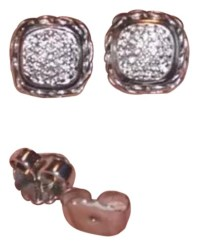 John Hardy Diamond Stud Earrings