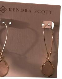 Kendra Scott Gold Earrings - Tradesy