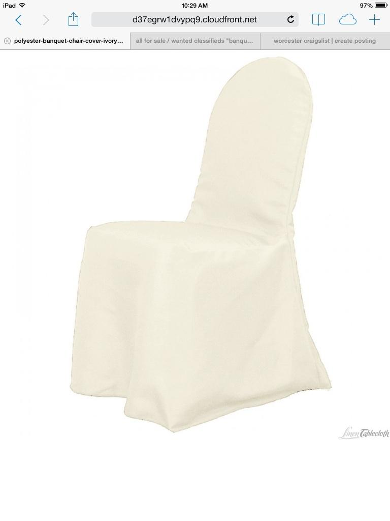 are chair covers necessary wedding office youtube 300 ivory banquet | tradesy weddings