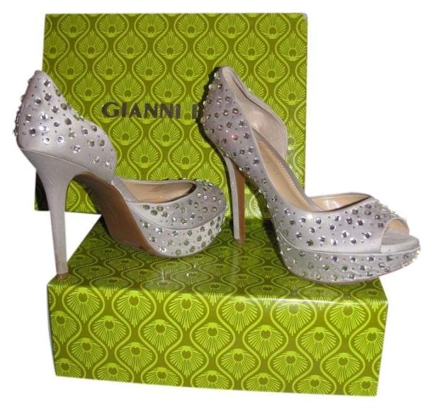 48a93c793958 20+ Gianni Bini Merri Jeweled Silver Shoes Pictures and Ideas on ...