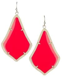 Kendra Scott Bright Red Earrings 15% Off