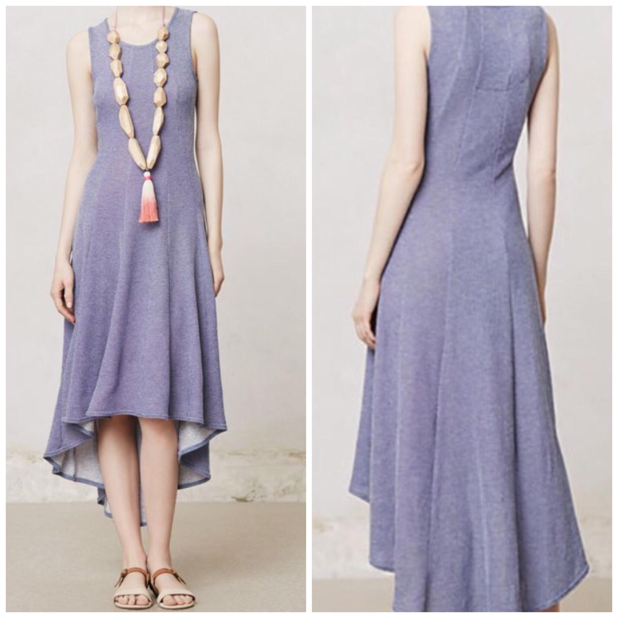 Anthropologie Puella High- Tank Mid-length Casual Maxi