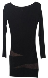 BCBGMAXAZRIA Black Short Cocktail Dress Size 0 (XS) - Tradesy