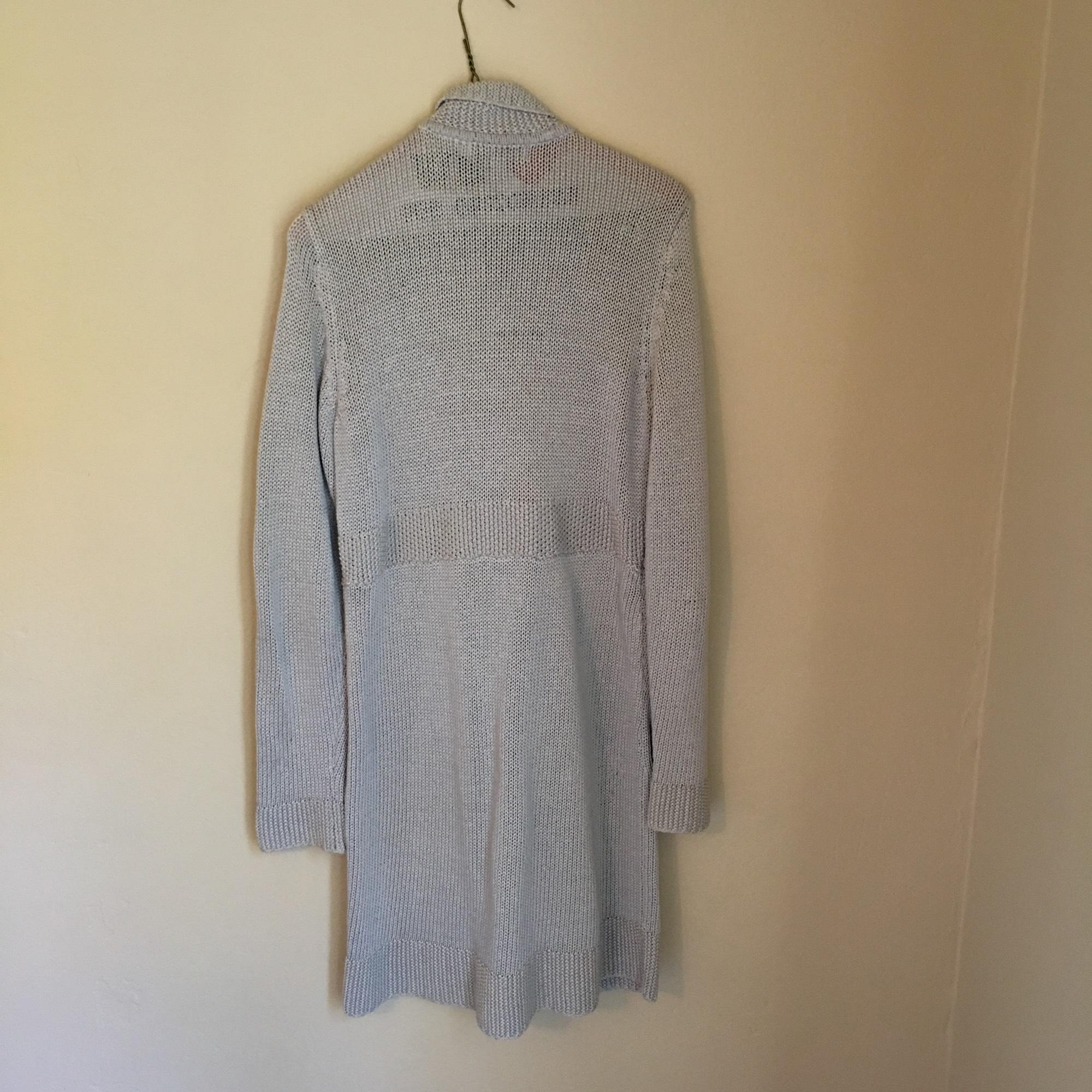 48a7052864 ... Boden Light Gray Coat-style Cotton Cardigan Size 10 Boden Cardigan Size  4 ...