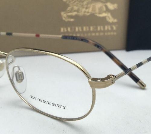 375c87c5e235 Burberry 2199 3001 55-17 Black Frame Plaid With Clear · Burberry Eyeglasses  1273 1145 52-19 135