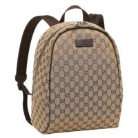 Gucci Gg Canvas Backpack