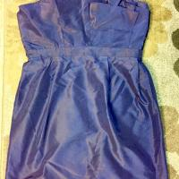 J.Crew Navy Blue Silk Taffeta Mika Sexy Bridesmaid/Mob