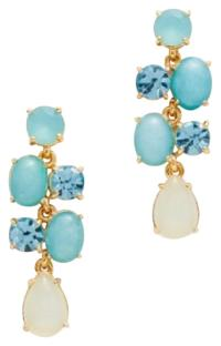 Kate Spade Turquoise Stack Attack Earrings - Tradesy