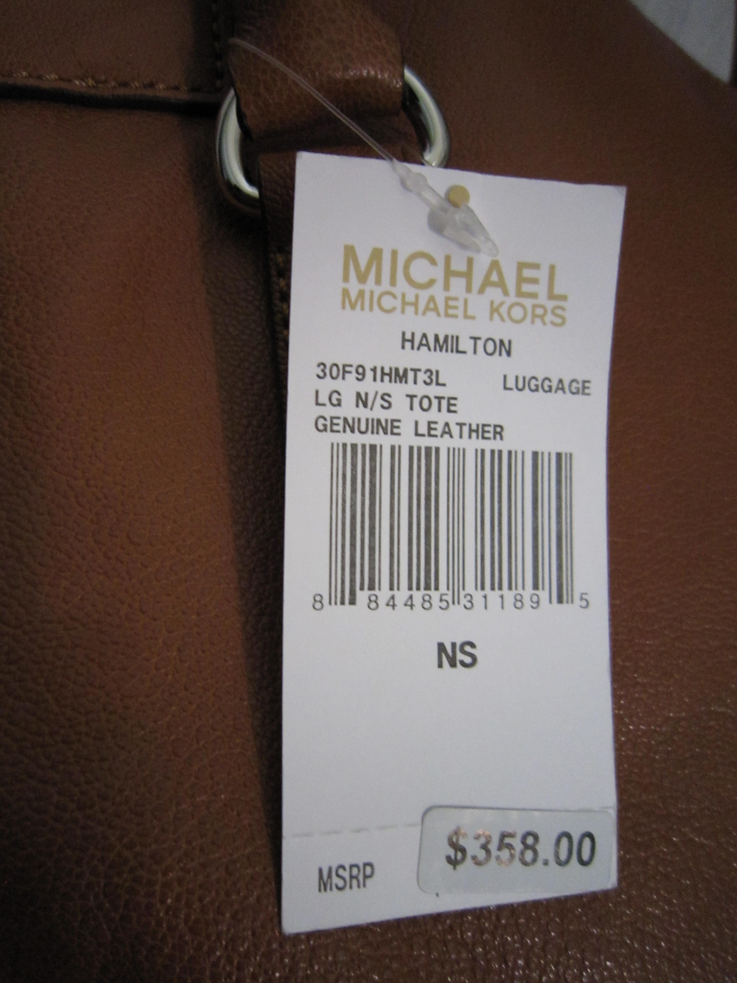 Michael Kors Hamilton Large New with Tags Lock and Key