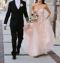 Monique Lhuillier Candy Wedding Dress - Tradesy
