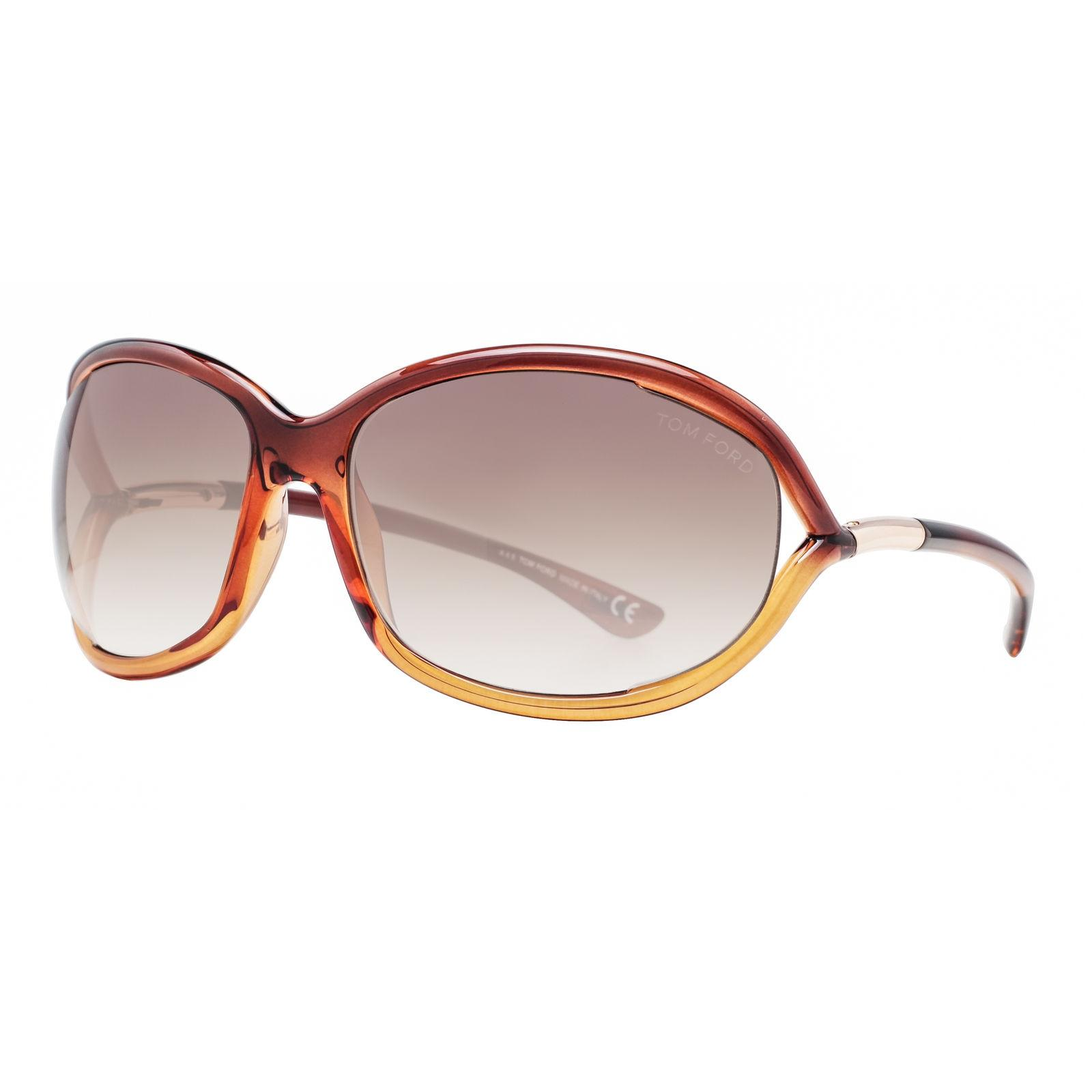 Tom Ford Clear Brown Gradient Jennifer Tf008 50f Women'