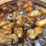 またまた牡蠣の燻製!