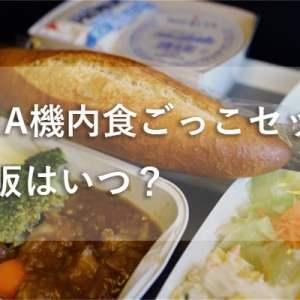 機内食ごっこ