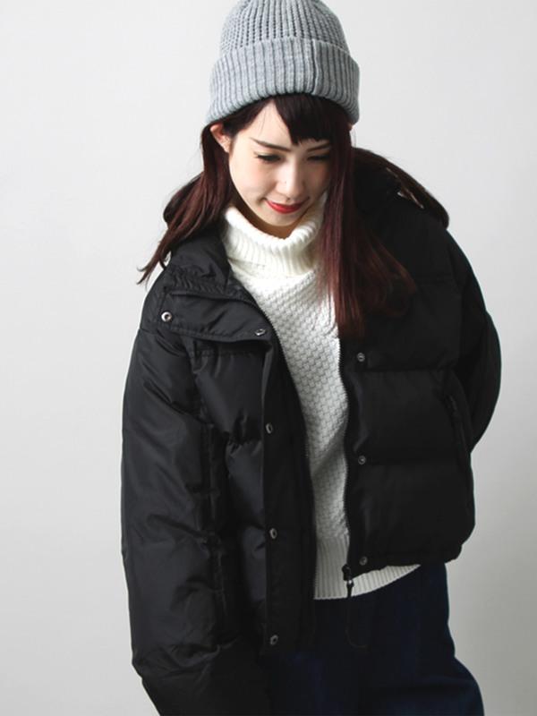 WEGO/ショート中綿ジャケット(レッド)