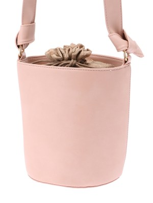 WEGO(ウィゴー) |WEGO/レース巾着バケツショルダーバッグ