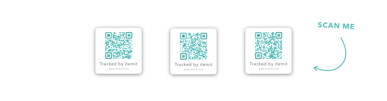 QR Codes and RFID Tags for Asset Management & Tracking