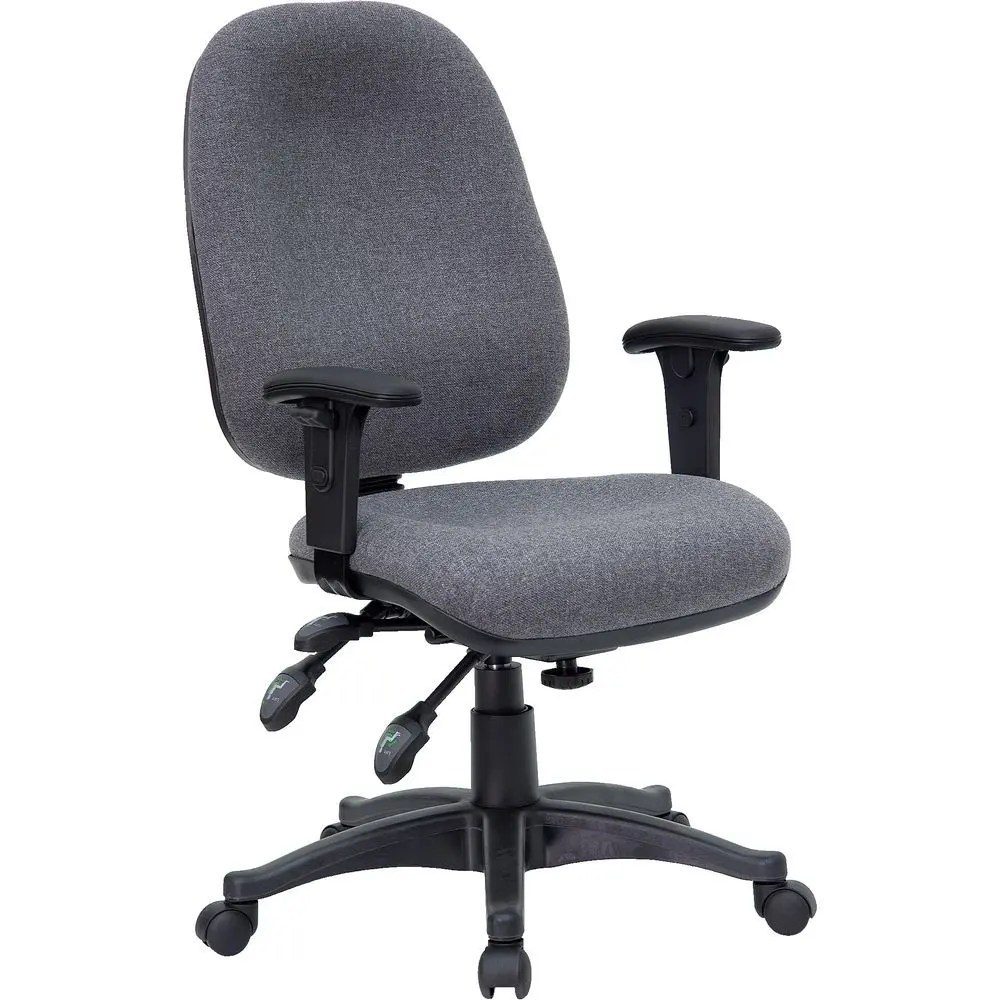 Cloth Computer Chair Flash Furniture Bt 662 Gy Gg Mid Back Multi Functional