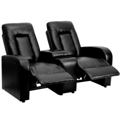 Recliner Chairs Movie Theater Replacement Chair Covers Ikea Flash Furniture Bt 70259 2 Bk Gg Black Leather Home