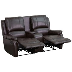 Theater Recliner Chairs Hanging Egg Australia Flash Furniture Bt 70295 2 Brn Gg Brown Leather Home
