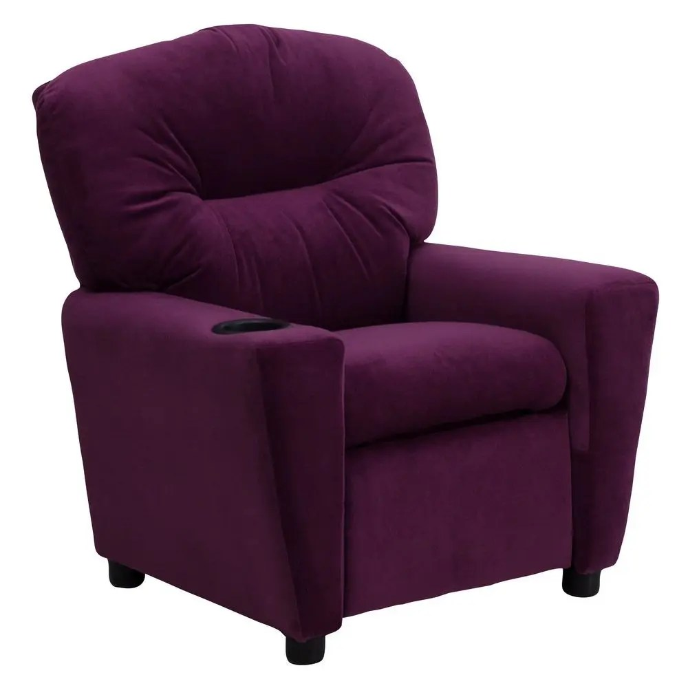kid recliner chair covers to hire flash furniture bt 7950 mic pur gg contemporary purple