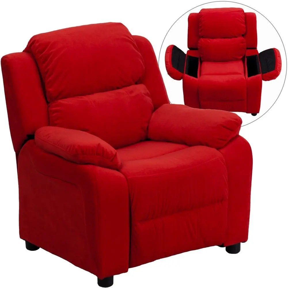 Flash Furniture BT7985KIDMICREDGG Deluxe Heavily