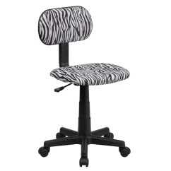 Tiger Print Chair Cover Rentals Langley Flash Furniture Bt Z Bk Gg Black And White Zebra