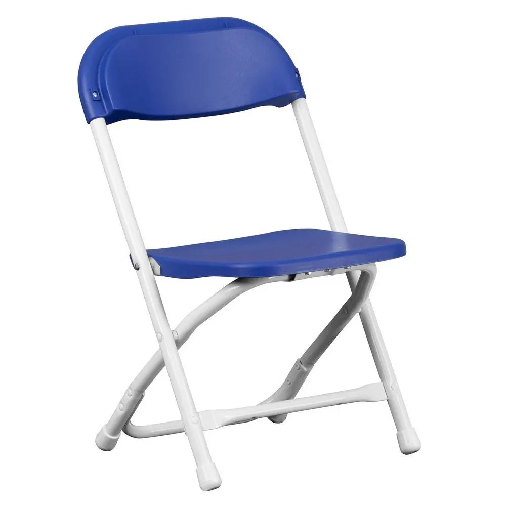 Blue Folding Chairs Flash Furniture Y Kid Bl Gg Kids Blue Plastic Folding Chair