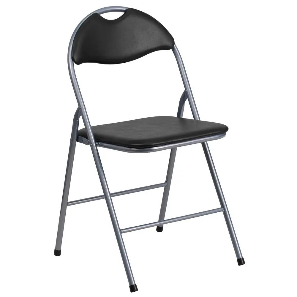 metal folding chairs wholesale high reviews flash furniture yb yj806h gg hercules series black vinyl