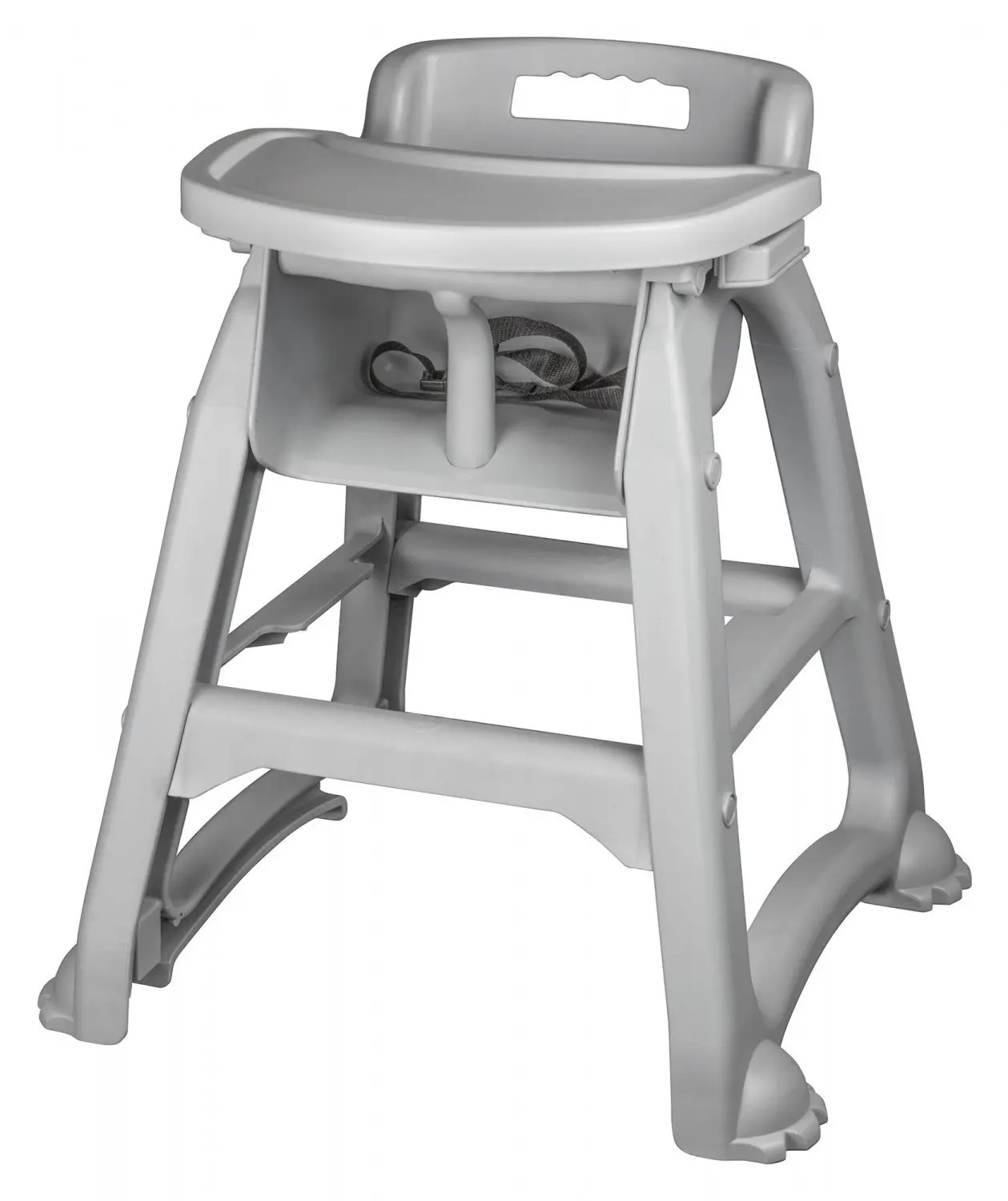 restaurant high chair with tray giant camp winco chh 25 plastic
