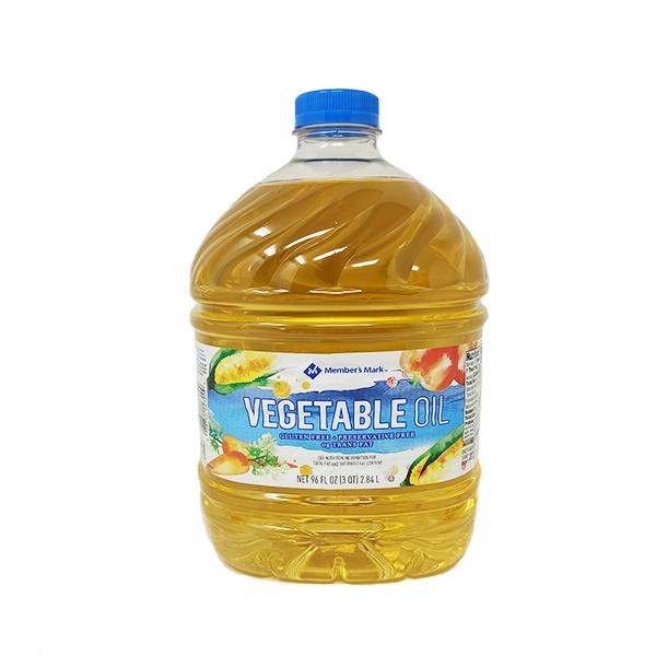 Aceite Vegetal, Sin Gluten, Member's Mark. 2.84 L (96 FL oz).