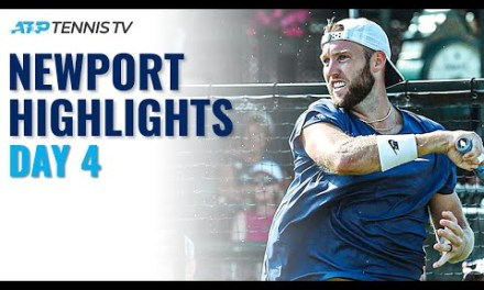 Sock and Anderson Go the Distance; Bublik Faces Jung | Newport Day 4 Highlights
