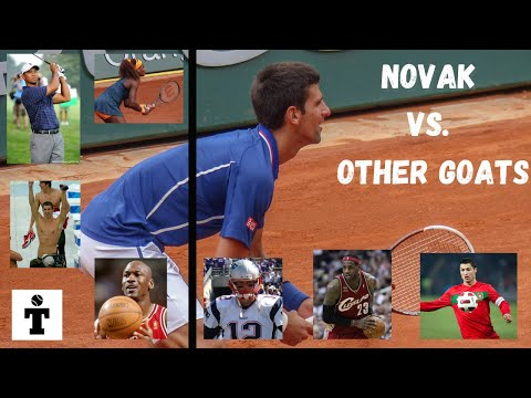 Novak Djokovic vs. Other GOATS In Their Sport. How Does Novak Compare As An Overall Athlete
