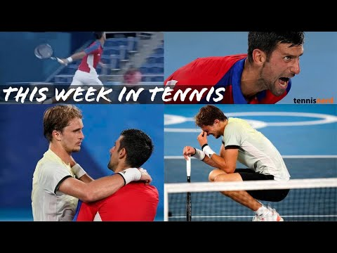 This week in tennis: What happened to Novak Djokovic at the Olympics?