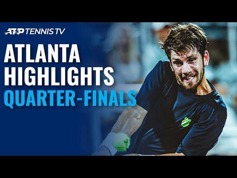 Fritz Battles Opelka; Isner, Norrie Seek Semi-Final Spots | Atlanta Open Quarter-Final Highlights