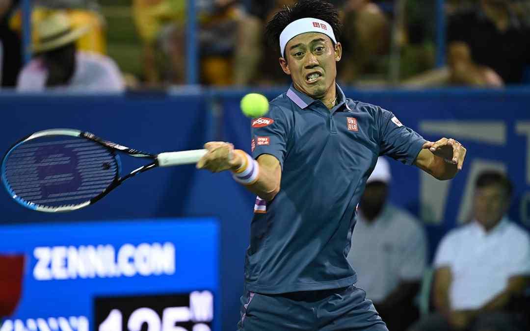 Nishikori Flies From Tokyo Into Washington Second Round