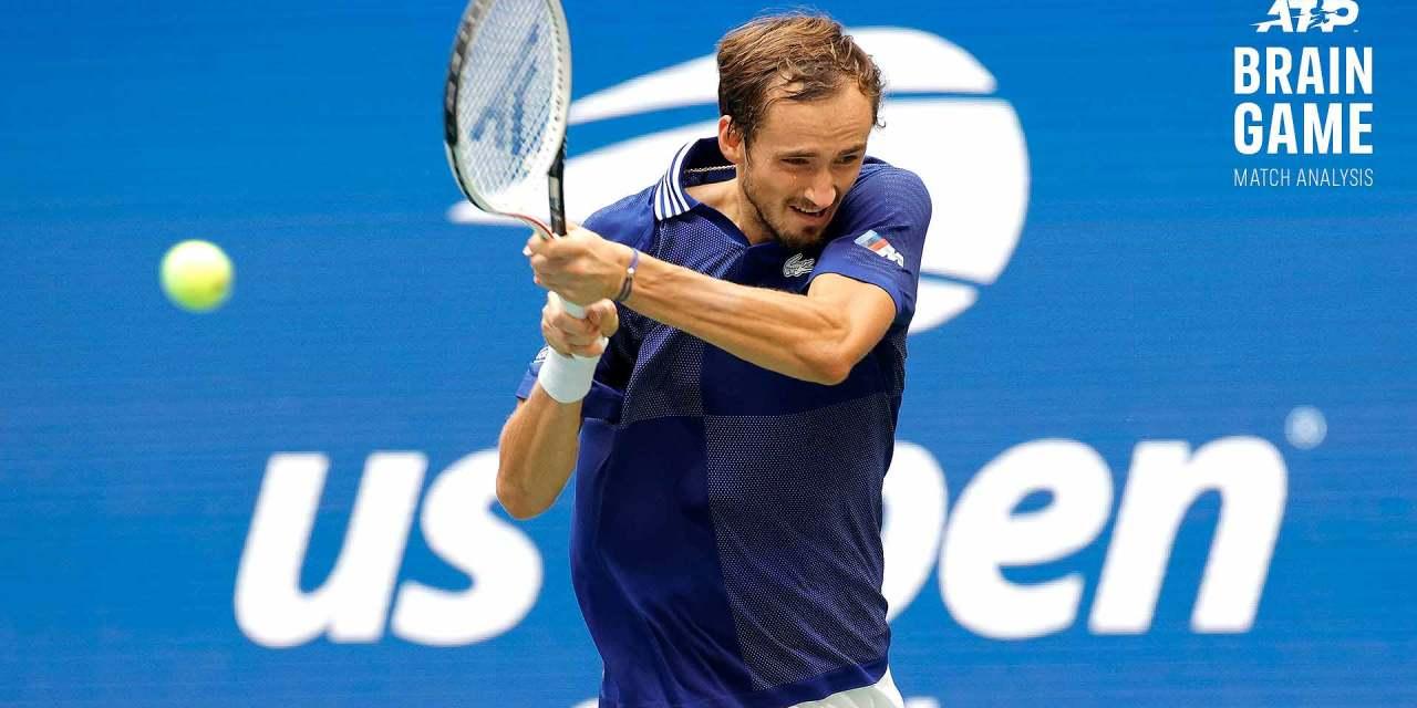 Brain Game: How Medvedev Rewrote A Losing Game Plan To Stop Djokovic