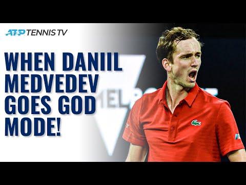 5 Times Daniil Medvedev Went GOD MODE 🔥